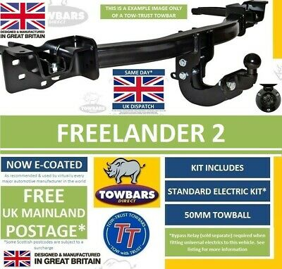 Land Rover Freelander 2 Towbar 2006 on Tow Bar E2051BUN61