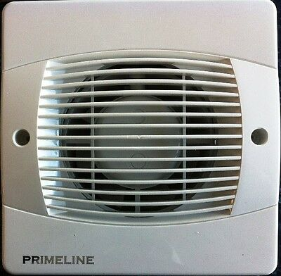 "Primeline/Manrose PEF4010 Toilet / Bathroom Extractor Fan for 100mm/4"" duct"
