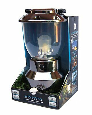 GE Outdoor Camping Enbrighten LED Lantern | 350 Lumens | 360º 50ft | 350 Hours