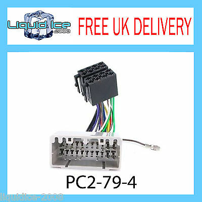 Pc2-79-4 Chrysler Voyager 2002 - 2005 Iso Stereo Head Unit Harness Adaptor Lead