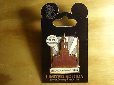 Disney DLR California Adventure Grand Opening Carthay Circle Theatre 2012 Pin
