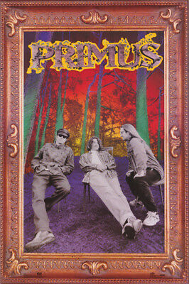 POSTER : MUSIC : PRIMUS - IN PICTURE FRAME BORDER - FREE SHIP #8205 LW22 H