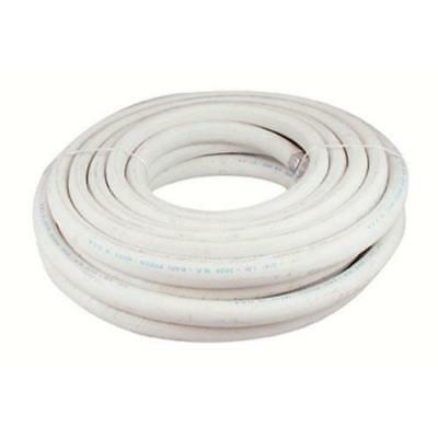 """HOSE Hot Water commercial grade HD 50 Foot White 3/4"""" ID 200 degree 11541"""