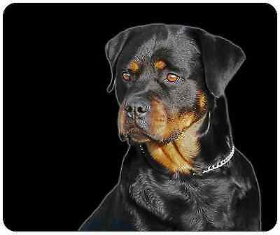 Mouse Pad Custom Thick Dog Mousepad - Rottweiler - Add Any Text Free