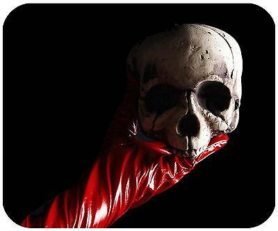 Mouse Pad Custom Personalized Thick Mousepad - Scull - Add Any Text Free