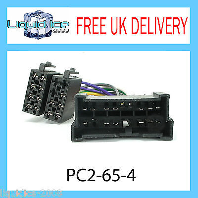 Pc2-65-4 For Hyundai Getz 2002 Onwards Iso Stereo Head Unit Harness Adaptor Lead