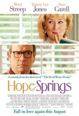 HOPE SPRINGS MOVIE POSTER 2 Sided ORIGINAL Version B 27x40 MERYL STREEP