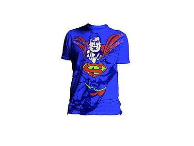 Superman T-Shirt Officiel Neuf sous blister DC Comics XL Superman tee shirt