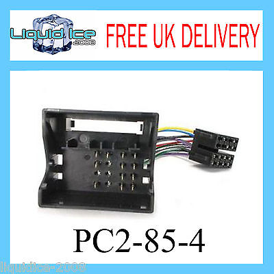 Pc2-85-4 Vauxhall Vectra 2005 Onwards Iso Stereo Head Unit Harness Adaptor Lead