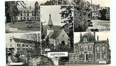 78-SEPTEUIL (CPSM) multivues