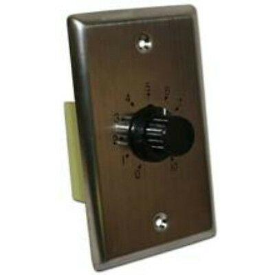 NEW in-wall Sonance WHITE Volume Control.Speaker Stereo Controller.Knob Switch.