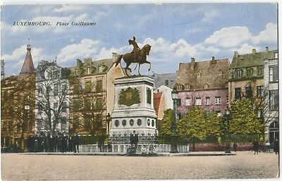 Luxembourg Place Guillaume