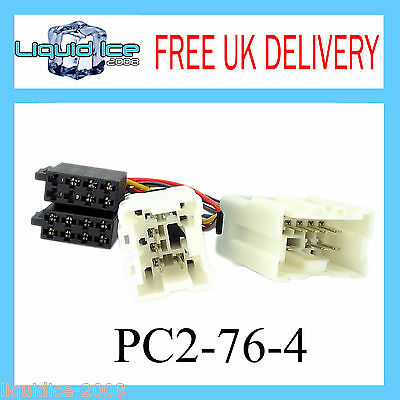 Pc2-76-4 Nissan Micra 2000 Onwards Iso Stereo Head Unit Harness Adaptor Lead