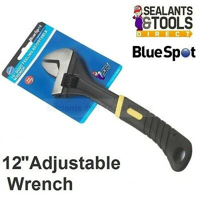 "Blue Spot 12"" Adjustable Spanner Wrench 34mm maximum jaw width"