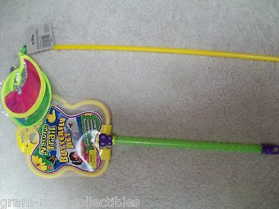 SET OF 2 BUTTERFLY NET AND SPINNER WAND CGREAT FOR CATCHING TADPOLE MINNOWS ETC