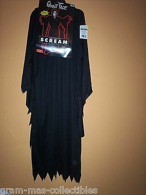 Costume- Ghost Face (Movie-Scream) W/mask Adult