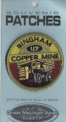 SOUVENIR PATCH BINGHAM COPPER MINE, UTAH