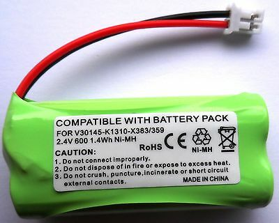 1 x SIEMENS GIGASET A14 A140 A145 TRIO COMPATIBLE BATTERY 2.4V