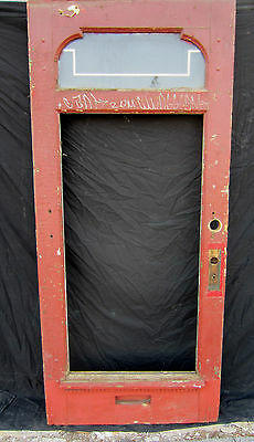 ~ Unique Victorian Door ~ Needs Restoration ~ Architectural Salvage ~