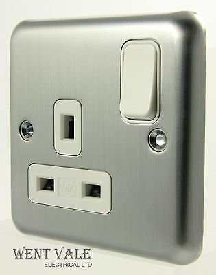 PREMSPEC POLISHED//SHINY CHROME 45A COOKER SWITCHES//SOCKETS 1 GANG//2 GANG PREMIUM