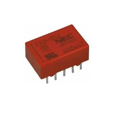 2x NEC RELAY EA2-5NJ EA2-5, Low Signal- PCB COIL 5VDC NON-LATCH
