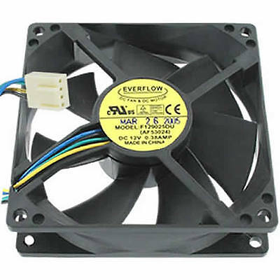 PWM Lüfter Fan Everflow F129025DU 92x92x25mm 12V DC 4,56W