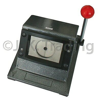 Heavy Stand Cutter for 35mm Square Badge Button Maker Cuts 41mm Paper Scrapbook