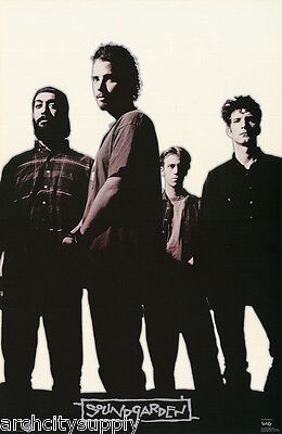 POSTER : MUSIC :  SOUNDGARDEN - STANDING 1996 -  FREE SHIPPING ! #7217 LW22 L