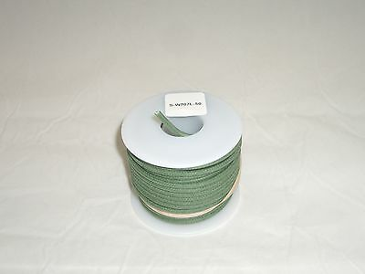 Ced S-W707L 50Ft 20Awg Cloth Covered Insulated Stranded Cu Hook-Up Wire Green 05