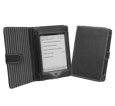 Cover-Up Amazon Kindle Touch (2011 model) (Wi-Fi / 3G) Book Style Case - Black