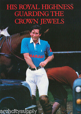 Poster - Prince Charles Guards The Crown Jewels -    Free Shipping ! Pp29 Rbw4 C