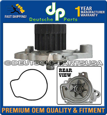 Acura El Honda Civic Engine Water Pump W/ Metal Impeller & Gasket
