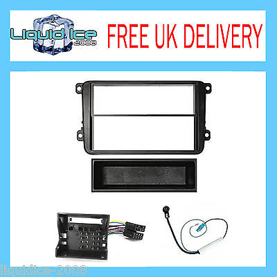 VW PASSAT B5-3B5 2005 to 2011 FITTING KIT BLACK FASCIA  ADAPTOR PANEL SURROUND