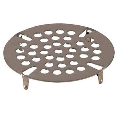 """DRAIN STRAINERS (3)  Flat 3.5"""" sink or floor SS 11903"""