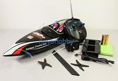 RC RTR Electric Twin Engines Fast Racing Rush Rocket Boat