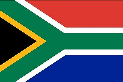 "SOUTH AFRICA FLAG 18"" X 12"" for boats treehouses caravans AFRICAN flags"