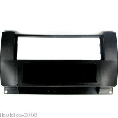 CT24RO02 ROVER 75 1999 to 2005 BLACK SINGLE DIN FASCIA WITH FIXED POCKET