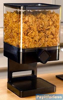 Zevro TSO100W Cereal Snack Coffee Compact Container Dispenser Storage