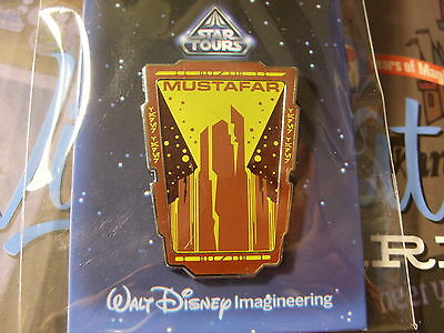 WDI Walt Disney Imagineering Star Tours Mystery Mustafar Pin LE 200