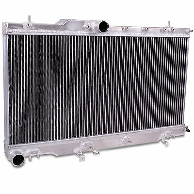40Mm Aluminium Core Alloy Race Radiator Rad For Subaru Impreza 01-03 Bugeye Wrx