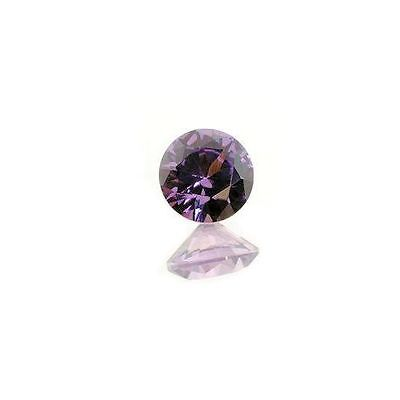 (2mm - 15mm) Round AAA Alexandrite Lab Created Sapphire