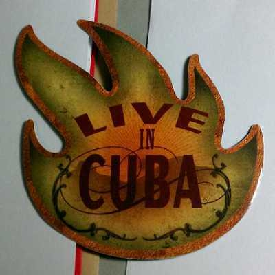 AUDIOSLAVE LIVE IN CUBA FIRE CAR SKATE Board Amp Case STICKER