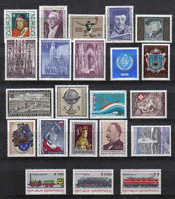 STAMPS   from  AUSTRIA    YEAR 1977   (MNH)  lot  902