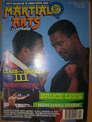 Martial Arts Illustrated Magazine Volume 2 Issue 11 April 1990
