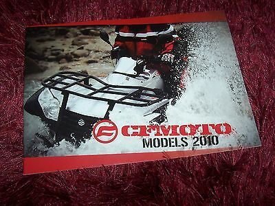 Catalogue / Brochure CF MOTO  Gamme / Full line 2010 //