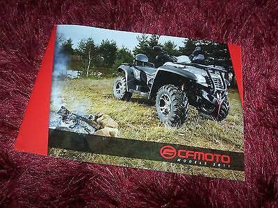 Catalogue / Brochure CF MOTO  Gamme / Full line 2011 //