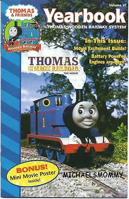 THOMAS the TANK & FRIENDS - YEARBOOK 2000, VOL VI  **NEW/RARE** INCLUDES POSTER!