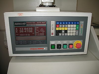 Bridgeport Ezpath S Ez-Path S Lathe Color Svga Lcd Monitor Display Retrofit Kit