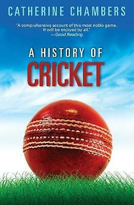 A History of Cricket by Catherine Chambers Paperback Book Free Shipping!