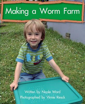 Making a Worm Farm by Nicole Ward Paperback Book Free Shipping!